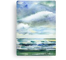 Watercolor - Cloudy Canvas Print