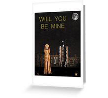 The Scream World Tour St James's Palace Will You Be Mine Greeting Card