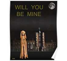 The Scream World Tour St James's Palace Will You Be Mine Poster