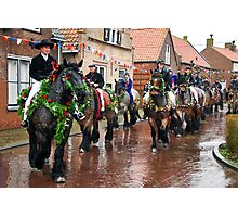 The parade begins.... Photographic Print