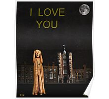 The Scream World Tour St James's Palace I Love You Poster