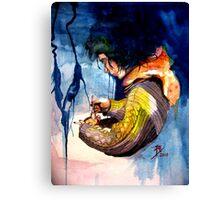 Loraine, Captif Amoureux. (Part 3 of 3) Final Canvas Print