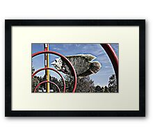 Dims Dale Framed Print
