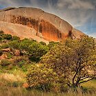 Suicide Rock - Mount Hope, VIctoria by John Bullen