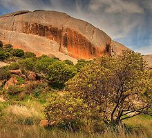 Suicide Rock - Mount Hope, VIctoria by John Bullen