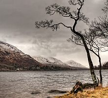 Loch Awe Shores by Mark White