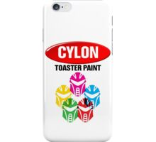 Cylon Toaster Paint iPhone Case/Skin