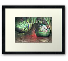 Genesis Touch Framed Print