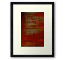 21 Grams Framed Print