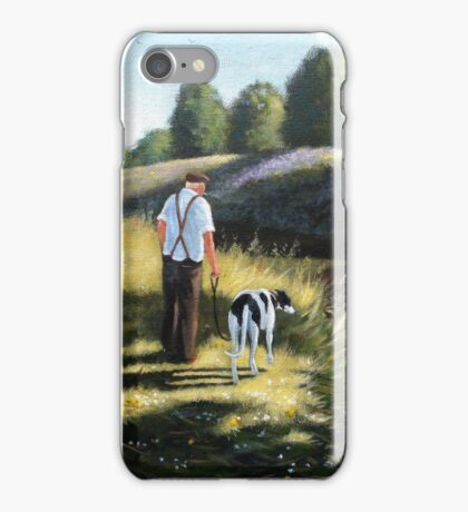 We were strolling down the river when these 2 kingfishers flashed by....making our day complete. iPhone Case/Skin