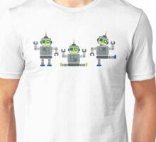 ROBOT x 3 Unisex T-Shirt