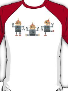 ROBOT x 3 - orange T-Shirt