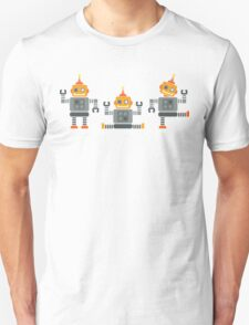 ROBOT x 3 - orange Unisex T-Shirt