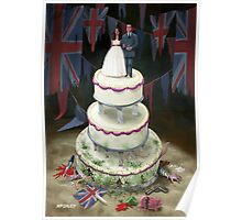 Royal Wedding 2011 cake Poster