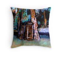 OUT HOUSE Throw Pillow