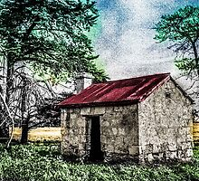 Abandoned (Colorised) by Graeme-Mellor