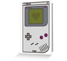 Game Boy Lover Greeting Card