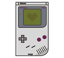 Game Boy Lover Photographic Print