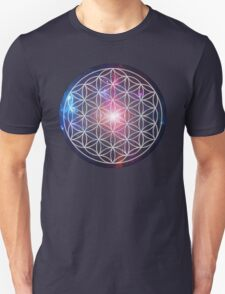 Sacred Geometry: Flower of Life III - Cosmos T-Shirt
