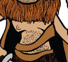 Goblin Warrior Sticker