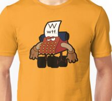 W Is For Whut-Da-Fuh Unisex T-Shirt