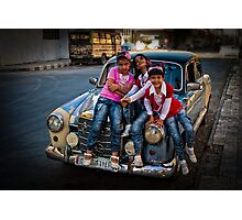 Syrian glamour Photographic Print