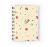 flowers watercolor  Spiral Notebook