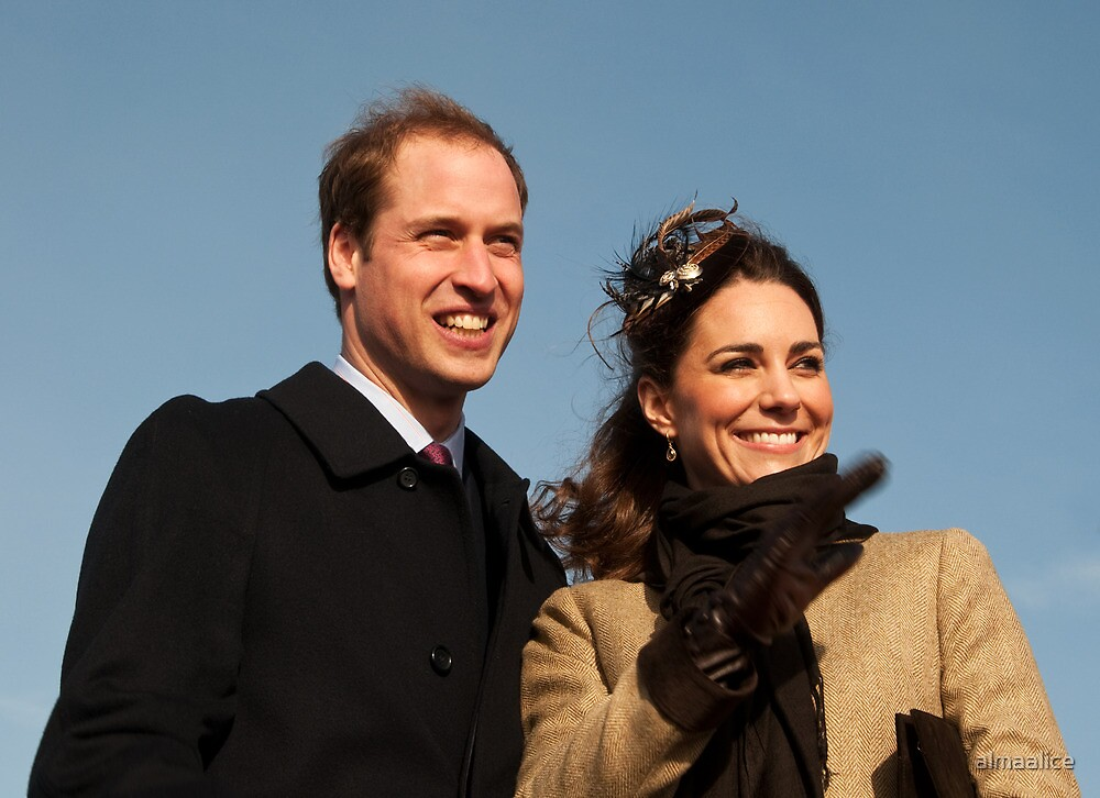 Prince William and Kate Middleton by almaalice