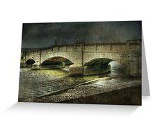 Axmouth Bridge Greeting Card