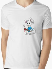 Easter Bunny Mens V-Neck T-Shirt