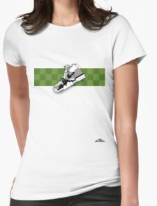 8-bit trainer shoe 1 T-shirt Womens Fitted T-Shirt