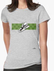 8-bit trainer shoe 1 T-shirt Womens Fitted T-Shirt
