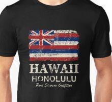 U.S. State Hawaii Flag - Vintage Look Unisex T-Shirt