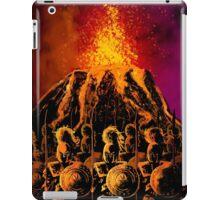 dark army in the volcano iPad Case/Skin