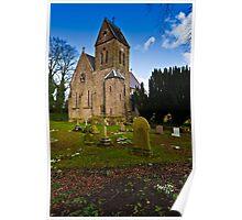St Ninian, Wooler. Northumberland UK Poster