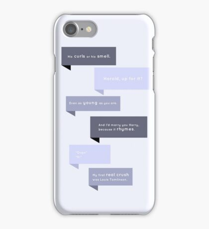 Quotes & Bubbles iPhone Case/Skin