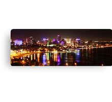 Perth City Lights, Kings Park Canvas Print
