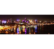 Perth City Lights, Kings Park Photographic Print