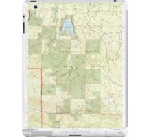 USGS Topo Map Oregon Willow Lake 282109 1997 24000 iPad Case/Skin