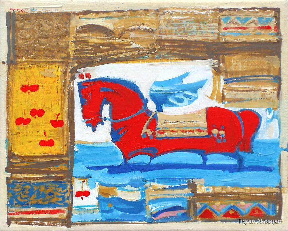 Red Dream by Tigran Akopyan