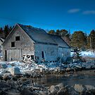 Fox Point Fishing Village by Roxane Bay