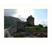 Bridge to Eilean Donan Castle Art Print