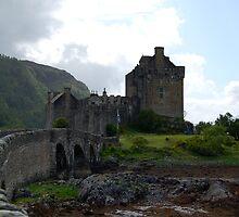 Bridge to Eilean Donan Castle by ScottishVet