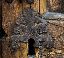 Old church lock by Joeblack