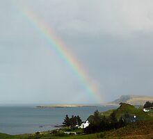 Rainbow Over Isle of Skye by ScottishVet