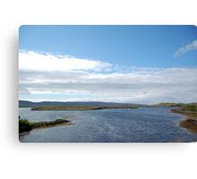 Dunvegan Castle Scenic View Canvas Print