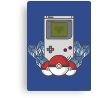 Game Boy Love Canvas Print