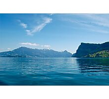 Lake Pilatus: Lucerne, Switzerland Photographic Print