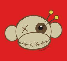 Voodoo Monkey Argyle One Piece - Long Sleeve
