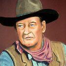 John Wayne by Hilary Robinson